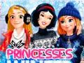 খেলা Princesses Winter Fun