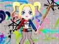 Spēle Cute Harley Quinn Dress Up