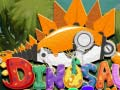 Dinosaur robot toys ﺔﺒﻌﻟ