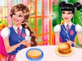 Spiel Princesses Burger Cooking