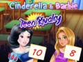 თამაშის Cinderella & Barbie Teen Rivalry