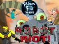 խաղ Phineas and Ferb Robot Riot!