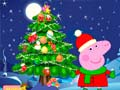 Hry Peppa Pig Christmas Tree Deco
