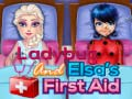 Spiel Ladybug And Elsa's First Aid