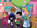 ເກມ Teen Titans Go! Snack Attack