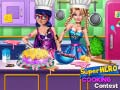 Game Super Hero Cooking Contest