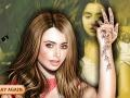 Игра Lily Collins Makeover