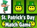 Spel St. Patrick's Day Match Game
