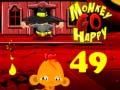 თამაშის Monkey Go Happy Stage 49