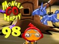 Игра Monkey Go Happy Stage 98