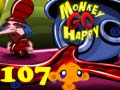 Игра Monkey Go Happy Stage 107