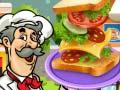 Játék Sandwich Baker
