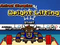 Spiel Animal Olympics Weight Lifting