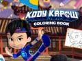 Juego Kody Kapow Coloring Book