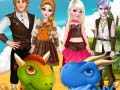 Gioco Disney Couple And Dragons