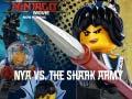 Joc Lego Ninjago: Nya vs The Shark Army