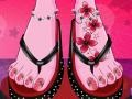 Игра Monster High pedicure