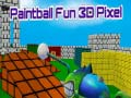 Spiel Paintball Fun 3D Pixel