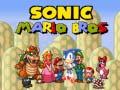 Juego Sonic Mario Bros