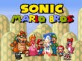 Gra Sonic Mario Bros