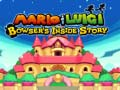 Game Mario & Luigi: Bowser's Inside Story