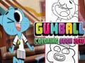 Hra Gumbal Coloring book 2018