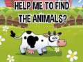 Game Help Me To Find The Animals