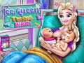 Spēle Ice Queen Twins Birth