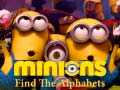 Spiel Minions Find the Alphabets