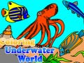 Game Coloring Underwater World