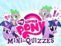 Juego My Little Pony: Mini-Quizzes