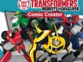 Igra Transformers Robots in Disguise: Comic Creator