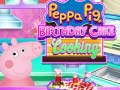 Joc Peppa Pig Birthday Cake Cooking
