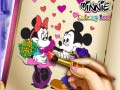 ゲームMinnie Coloring Book