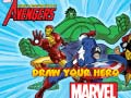 Igra Marvel Draw Your Hero