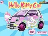 Spēle Hello Kitty Car