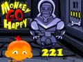 Jeu Monkey Go Happy Stage 221