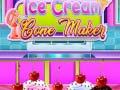 ゲームIce Cream Cone Maker