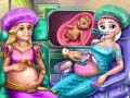 Spel Royal BFFs Pregnant Checkup