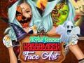 trò chơi Kylie Jenner Halloween Face Art