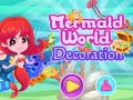 Juego Mermaid World Decoration