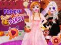 Igra Frozen Sisters Halloween Party