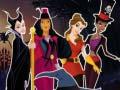 Spiel Princesses Halloween Night