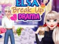 Gra Elsa Break Up Drama