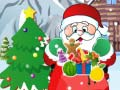 Santa Collecting Christmas Gifts קחשמ