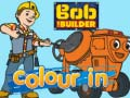 Hry Bob the builder colour in