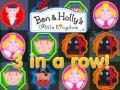 Игра Ben & Holly's Little Kingdom 3 in a row!