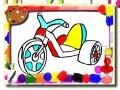 Lojë Toys Coloring Book