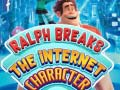 Ralph Breaks The Internet Character Quiz קחשמ