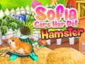 খেলা Sofia Care Her Pet Hamster